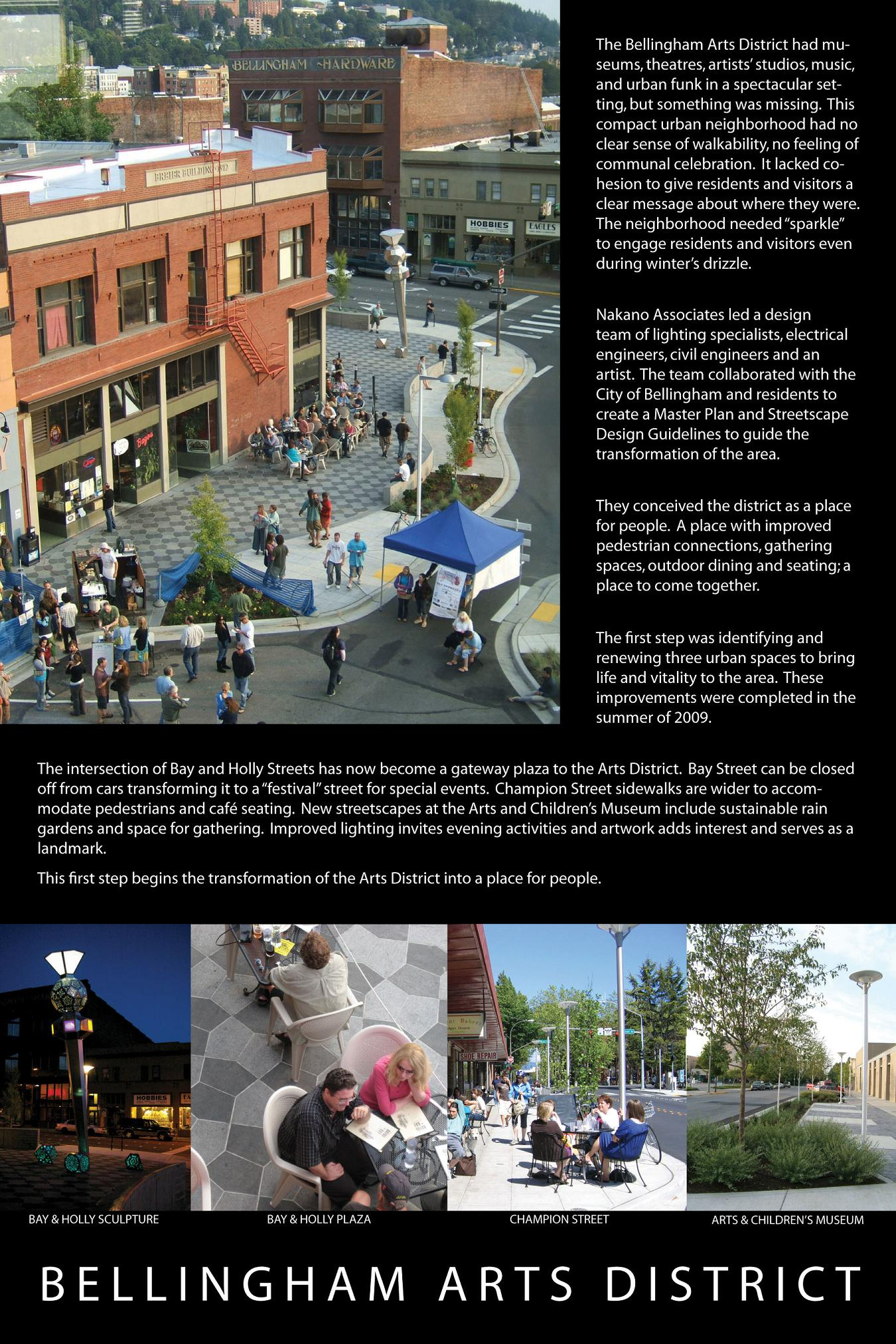 Bellingham Arts District Board, Nakano Associates
