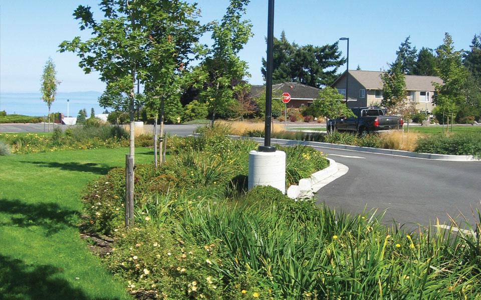 Nakano Associates Peninsula College Parking Lot Sustainable Retrofit