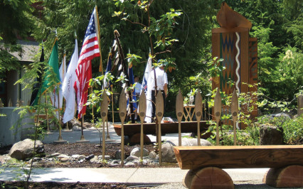 Nakano Associates Squaxin Island Tribe Veterans Memorial