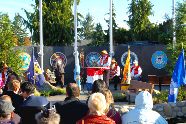 Puyallup Tribe Veterans Memorial Dedication Ceremony