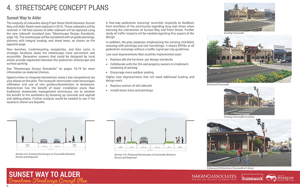 Downtown Issaquah Streetscape Plan