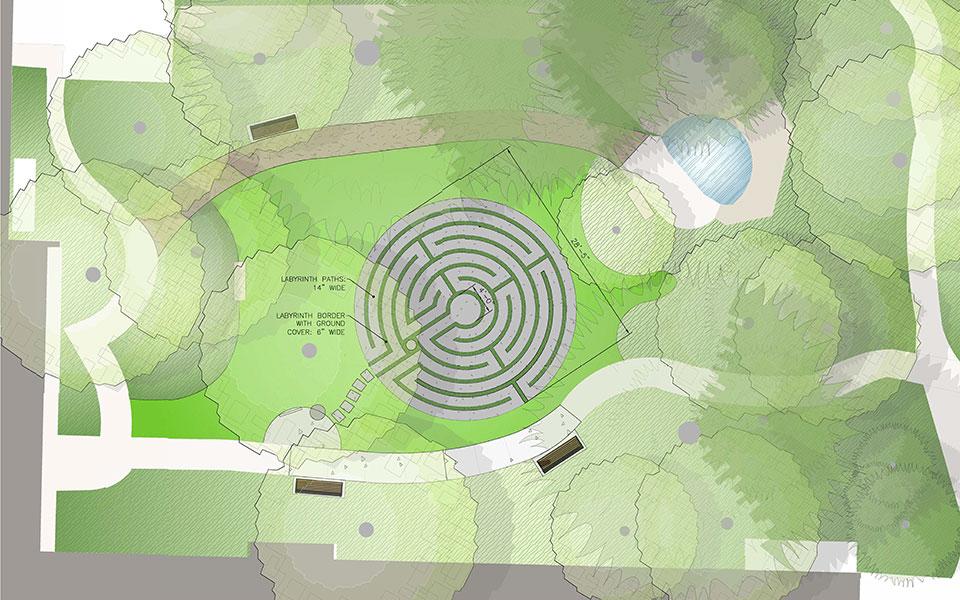 Seattle University Nakano Associates Labyrinth